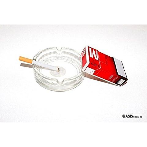 Portacenere–posacenere–in vetro–15pz–10,5cm diametro economico–ma bene e