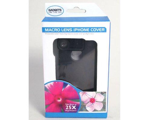 Bluw Macro Lente teléfono Carcasa (Negro)