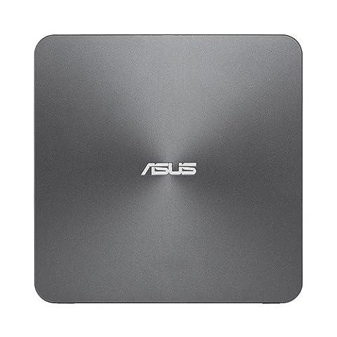 "Asus VivoPC / Mini-PC VC65R-G041Z avec Processeur Intel Pentium G4400T, 4Go RAM, 2,5"" 1TB HDD + 2ème 2,5'' Slot, Intel HD Graphics, Windows 10 Pro 64 bits"