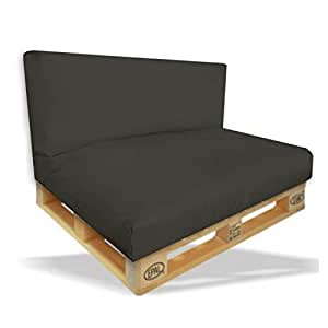 planium kit coussins pour canap en palettes coussin d. Black Bedroom Furniture Sets. Home Design Ideas