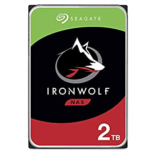 """Seagate 2 TB IronWolf Disque dur interne 3.5"""" pour NAS 1-8 Bay (5900 RPM, 64 MB Cache, 180 TB/year Workload Rating, Up to 180 MB/s, Model : ST2000VNZ04/VN004) (B07H2GY8ZV)   Amazon price tracker / tracking, Amazon price history charts, Amazon price watches, Amazon price drop alerts"""
