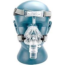 NM2 máscara nasal con cascos y almohadilla de cabeza para todos los tamaños