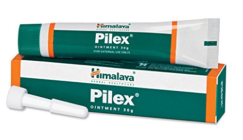 Himalaya Pilex Ointment for Hemorrhoids Piles Fissures Bleeding 30g