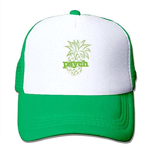 Preisvergleich Produktbild Psych Pineapple Logo Unisex Mesh Hat Adult Baseball Caps Sunshade Hat Snapback Cap JH4255