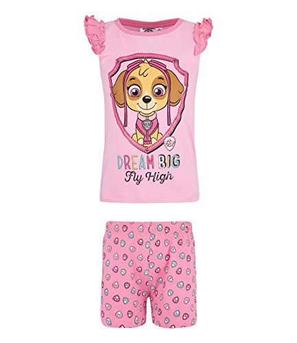 Paw Patrol Mädchen Shorty-Pyjama - pink - 104