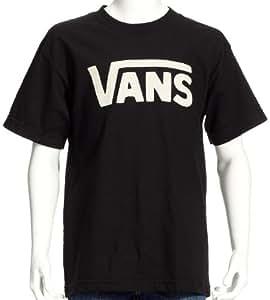 Vans Jungen Shirt B Classic Boys, Black/White, S, VIVFY28