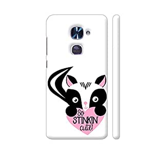 Colorpur So Stinking Cute Cat Artwork On LeEco Le 2 Cover (Designer Mobile Back Case)   Artist: UtART
