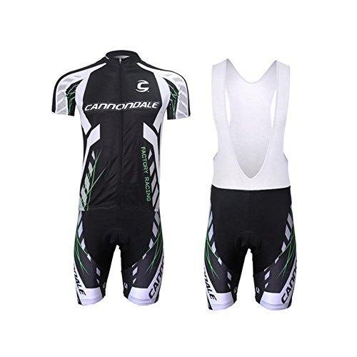 Strgao 2016 Herren Pro Rennen Team Cannondale MTB Radbekleidung Radtrikot Kurzarm und Tr?gerhose Anzug Bib shorts suit -