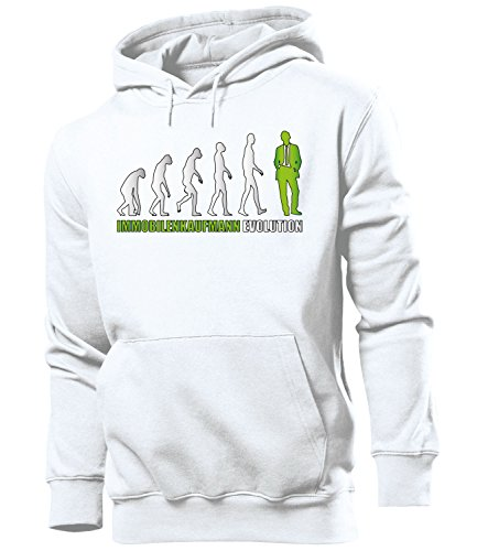 Immobilenkaufmann EVOLUTION 5903 Herren Hoodie (HKP-Grün) Gr. M