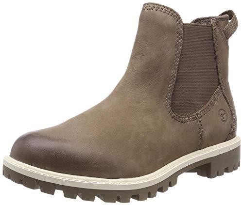 Tamaris Damen 25401-21 Chelsea Boots, Braun (Pepper 324), 38 EU -