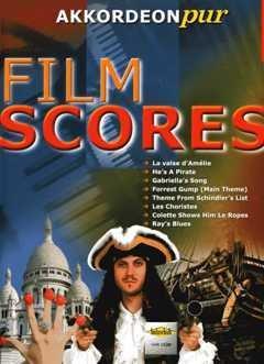 Film scores - arrangiert für Akkordeon [Noten / Sheetmusic] aus der Reihe: AKKORDEON PUR