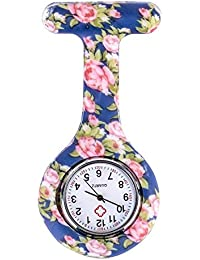 ShopyStore Style 4 Shellhard Fashion Prints Colorful Nurses Watches Doctor Portable Fob Pocket Wat