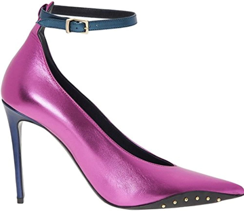 5b3d70df97ac Attribute Attribute Attribute Genuine Pink Metallic Court Shoes Ladies Size  6 EU 39 RRP £325