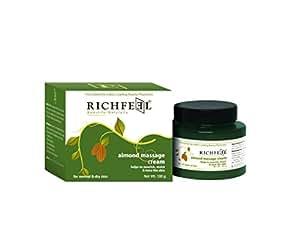 Richfeel Almond Massage Cream, 100g