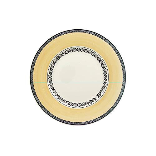 Villeroy & Boch - 10-1068-2640 - Audun Ferme Assiette à Petit-Déjeuner, Assiette en Porcelaine Premium avec Décor Floral Chargé, Compatible Lave-Vaisselle, 22 cm