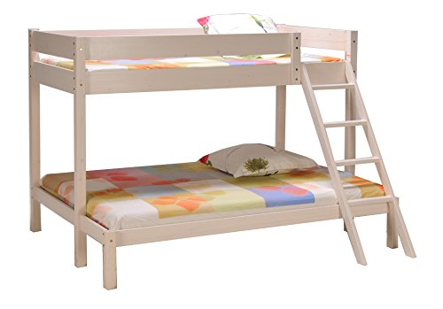 Weber Industries 298813 Triolo Lit Superposé Blanc 90 x 140 x 190 cm