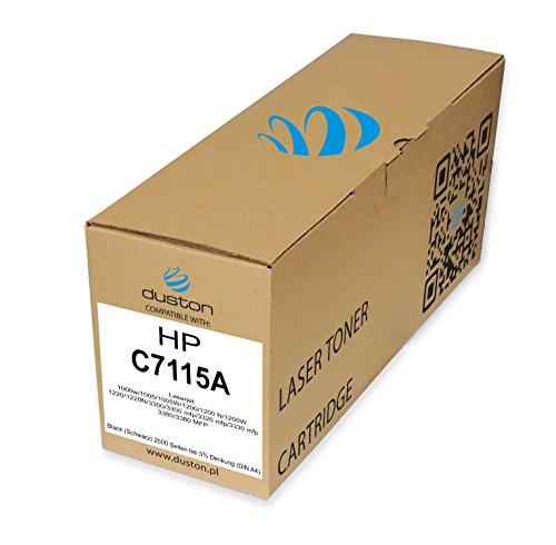 C7115A, 15A Schwarz Toner kompatibel zu HP Laserjet 1000w 1005 1200 1220 3300 3300 MFP 3320 MFP 3330 MFP 3380 MFP - Laserjet 1000 1200 1220 3300