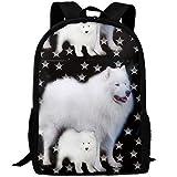 TTmom Zaini/Zaino Casual,Borse a Zainetto, Stylish Stars Dog Sammies Laptop Backpack School Backpack Bookbags College Bags Daypack
