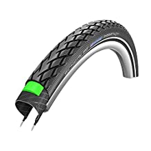Schwalbe Marathon 16 X 1.75 Wired Tyre with Greenguard Reflex 500g (47-305) - Black