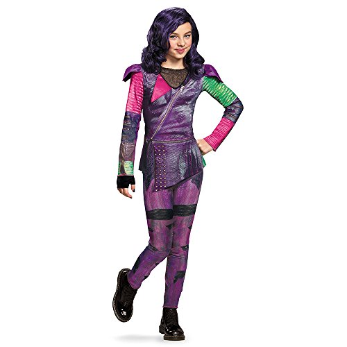 Disguise 88112K Mal Isle Of The Lost Classic Costume, Medium (7-8) by Disguise