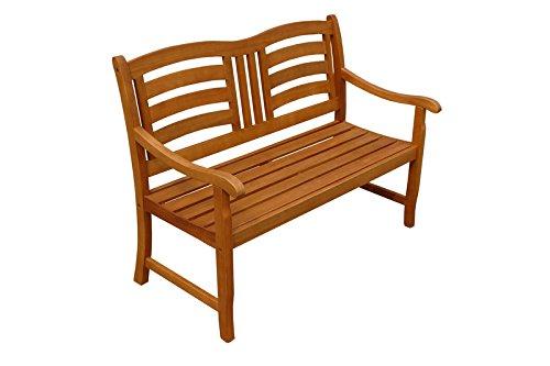 "Indoba Gartenbank, 2-Sitzer ""Montana"" – Serie Montana, braun, 120 x 65 x 91 cm, IND-70287-GB2 - 2"