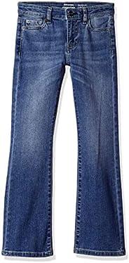 Amazon Essentials Girls' Boot-Cut Jeans N