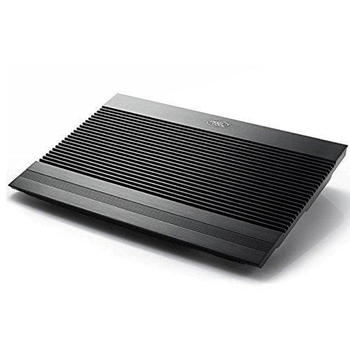DEEPCOOL N8ULTRA Notebook-Kühler Laptop-Kühler 2x140 mm Lüfter 17 Zoll Schwarz