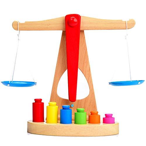 Zhongsufei Kleinkinder Lernspielzeug Gute geistige Kinder- / Holzspielwaren Die Fähigkeit, das Himmlische zusammenzubauen, das in der Aufklärung zusammengebaut Wird Spaß pädagogisches Spielzeug