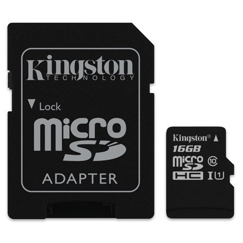 Kingston - Speicherkarte 16GB Micro SD Speicher Karte Für Samsung Galaxy S5 Handy