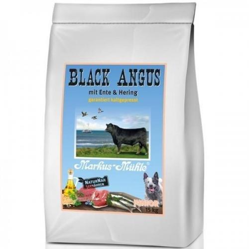 Markus Mühle Black Angus Junior 5 kg, Trockenfutter, Hundefutter (Mühle Junior)