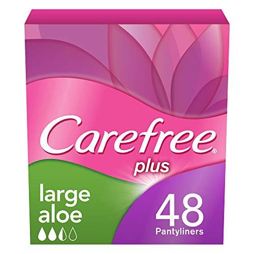 Carefree plus Large mit Aloe, 5er Pack (5 x 48 Stück)