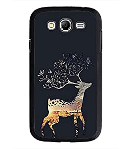PrintDhaba Deer D-2028 Back Case Cover for SAMSUNG GALAXY GRAND I9082 (Multi-Coloured)