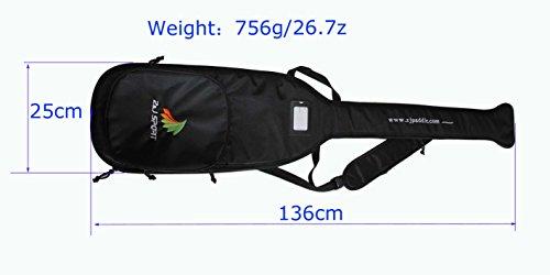 zj-sport-high-quality-black-bag-for-dragon-boat-paddle