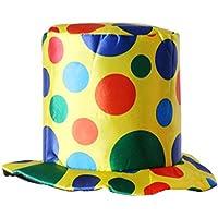 MagiDeal Sombrero de Payaso de Copa Accesorio de Vestido de Lujo de Circo Disfraces para Halloween de Fiesta Multicolor - #2