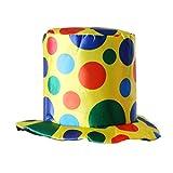 Gazechimp Sombrero de Payaso de Copa de Tela Adornos para Cumpleaños Accesorio de Fiesta de Disfraz...