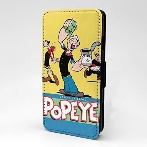 (Popeye der Matrose Man Cartoon bedruckt Telefon Flip Case Hülle für Apple iPhone 5 - 5 S - SE - Wimpy Olive Oyl - s-g865)