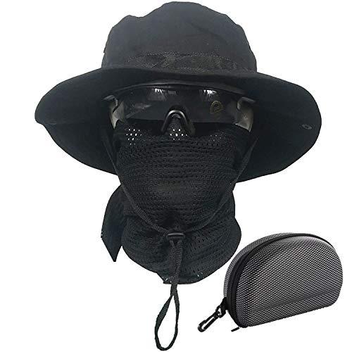 QMFIVE Boonie Bucket Hat Sombreros ala Ancha Sol Acampar