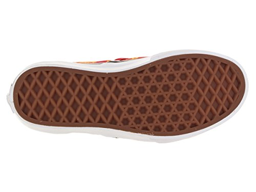 Vans Unisex, bambini Classic Pantofole Pomodoro