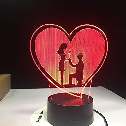 Lámpara LED 3D Alfabeto Letra Xr Cambiando Escritorio Inalámbrico Noche Luz Dormitorio Dormitorio Diciembre ## 3