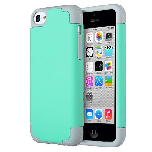 iphone-5c-hulle-ulak-iphone-5c-case-schlank-hybrid-schutzhulle-silikon-weisse-stossstange-tough-hart