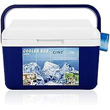 Zogin Refrigerador / Nevera Portátil para Camping / Senderismo / Playa, Color Azul - 22L