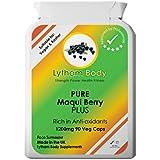 Maqui Berry PLUS - Le nouveau nutraceutique (1200mg x 90 gélules végétaliennes et végétariennes) certifié véritable...