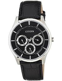 Citizen Analog Black Dial Men's Watch - AG8350-03E