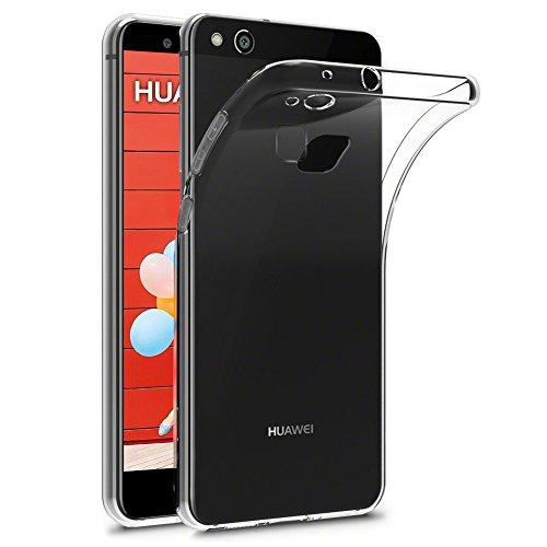 Galleria fotografica Cover per Huawei P10 Lite, FayTun Sottile Custodia Huawei P10 Lite Massima Protezione Da Cadute e Urti Silicone Morbida Anti-graffio TPU Trasparente Case Cover per Huawei P10 Lite