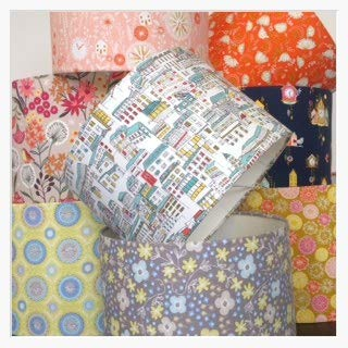 Make Your Own Lampshade Kit - ADD YOUR OWN FABRIC OR WALLPAPER - 20cm Drum Shade - Table or Pendant Lamp - MADE IN THE UK - From Elephant in my Handbag