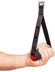 C.P. Sports 38782 Poignée rembourrée, pour entraînement physique, Noir, Taille unique