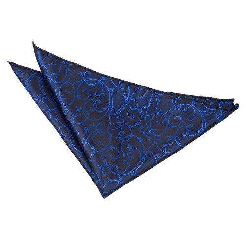 DQTHerren Taschentuch Mehrfarbig Schwarz und Blau (Weste Förmliche Schwarz Herren)