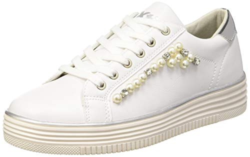 XTI 48894, Zapatillas Mujer, Blanco, 39 EU