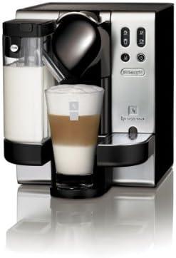 Nespresso Lattisima Automática EN680M DeLonghi - Cafetera monodosis (19 bares, Preparación automática de Capuccino, Modo de ahorro de energía)