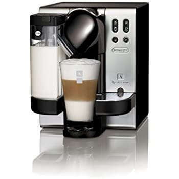 nespresso lattissima by de 39 longhi en680 satin chrome kitchen home. Black Bedroom Furniture Sets. Home Design Ideas